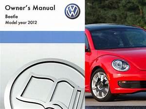 2012 Volkswagen Beetle Owners Manual In Pdf