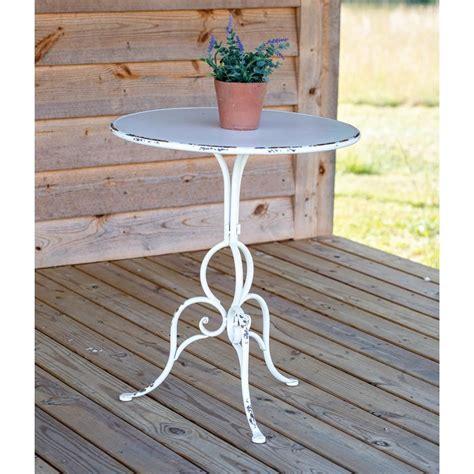 white metal garden table in 2020 metal garden table