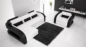 Canape d39angle en cuir avec fauteuil assorti italien for Tapis chambre enfant avec destockage canapé bordeaux