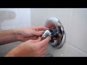 how to fix a leaky tub shower faucet youtube
