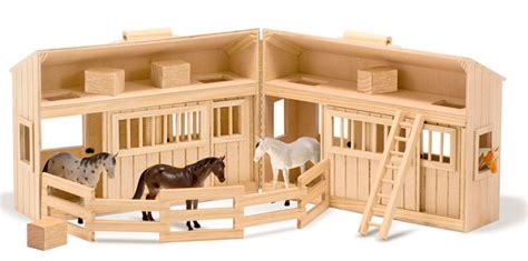 7 Nice Play Stables For Toy Horses