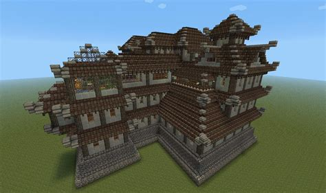 oriental style castle mansion finished screenshots show  creation minecraft forum