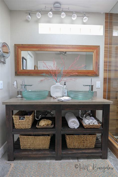 Diy Open Shelving Bathroom Vanity by Creative Diy Shelving Ideas For Organization And Style