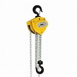 Manual Chain Block  Capacity  1 Ton  Rs 7000   Unit  P P