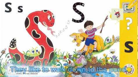 shape sound song  story  letter  jolly phonics