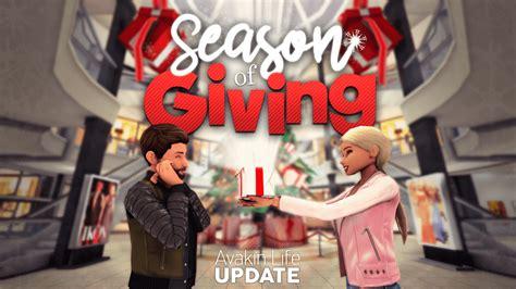 avakin giving season