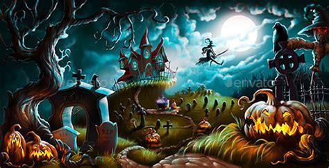 halloween templates  documents  psd