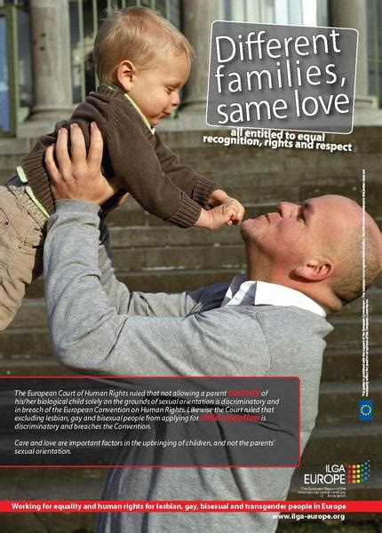 families love posters ilga europe