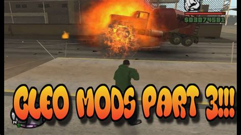Gta San Andreasbest Cleo Mods Link Part3 Youtube