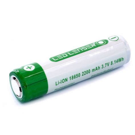 led lenser lithium ion rechargeable icr18650 battery 7704