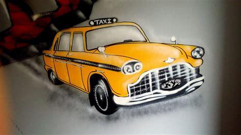 chambre dessin taxi york à la bombe de peinture les sables d olonnes
