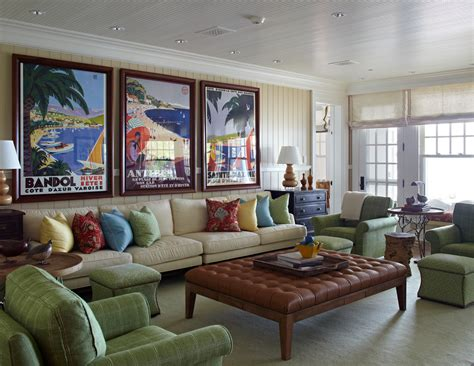 Transitional Living Room Leather Sofa by Glorious Framed Artwork Posters Decorating Ideas Gallery