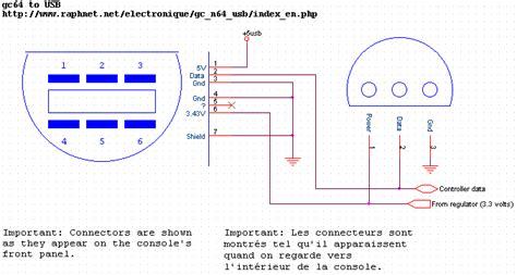 N64 Controller Wiring Diagram by Universal Console Connector Project