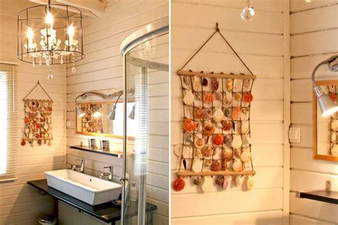 d馗oration cuisine et salle de bain décoration salle de bain coquillage