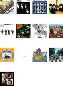 Beatles Albums Chronological Order
