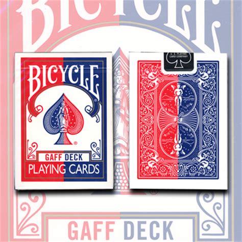 Bicycle Gaff Deck By Ellusionist by Gaff Effect Deck By Uspcc Bicycle