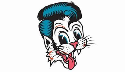 Stray Cats Drawing Surfdog Ours