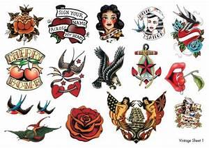 Vintage Temporary Tattoos | Temporary Tattoos in Australia ...