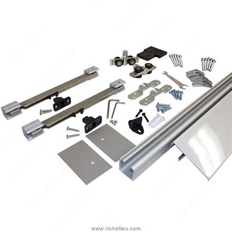 richelieu cabinet door hardware richelieu contemporary concealed barn door hardware set