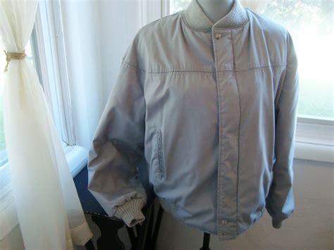Grey Catalina Varsity Jacket Menu0026#39;s Size 42