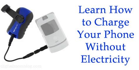 how to if your phone has a how to charge your phone with a usb crank charger