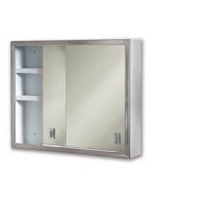 shop broan contempora 24 in x 19 25 in rectangle surface mirrored steel medicine cabinet at