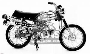 Honda Cl70 Scrambler 1972 K3 Usa Information