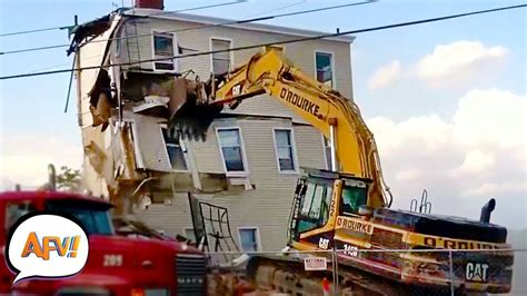 build  fail funny construction fails afv