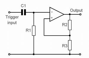 op amp bistable multivibrator circuit electronics notes With opamp multivibrator