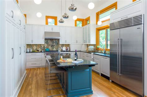 kitchen photos with island transitional pushes to modern transitional kitchen 5521