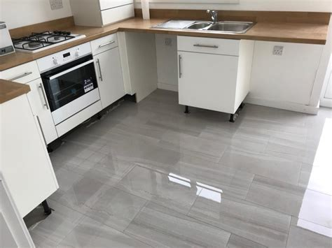 gloss kitchen floor tiles high gloss porcelain tiles 1 2metres sq in rothbury 3848