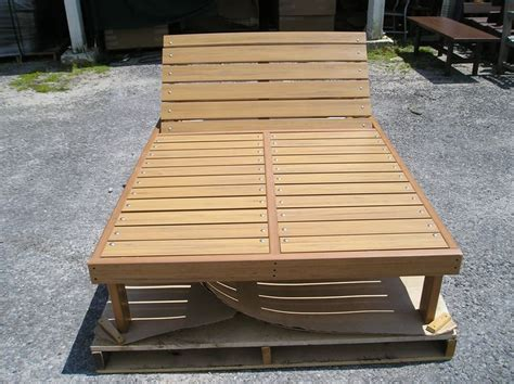 wood double chaise lounge woodworking projects plans