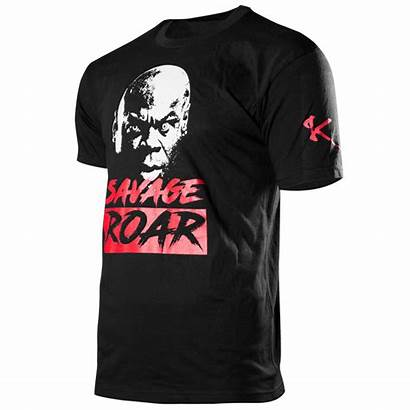 Savage Shirt Roar Apparel Gear Supplements Muscle