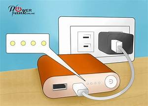 Power Bank Charger Instructions 2018