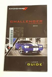 2012 Dodge Challenger Including Srt8 Owner U0026 39 S Operator