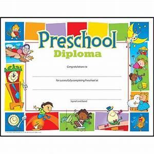 preschool diploma pre k k certificates diplomas With pre k award certificate templates