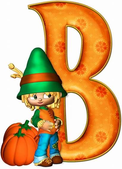 Letters Alphabet Halloween Letras Gratis Marcos Calabazas