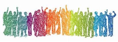 Community Diversity Health Mental Fun Having Vector