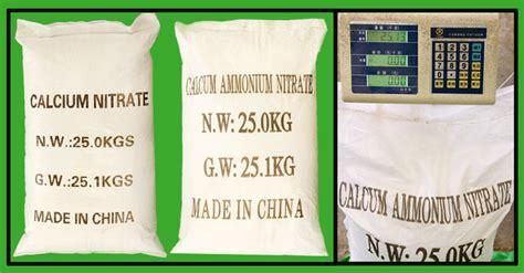 d engrais soluble dans l eau de calcium nitrate granulaire