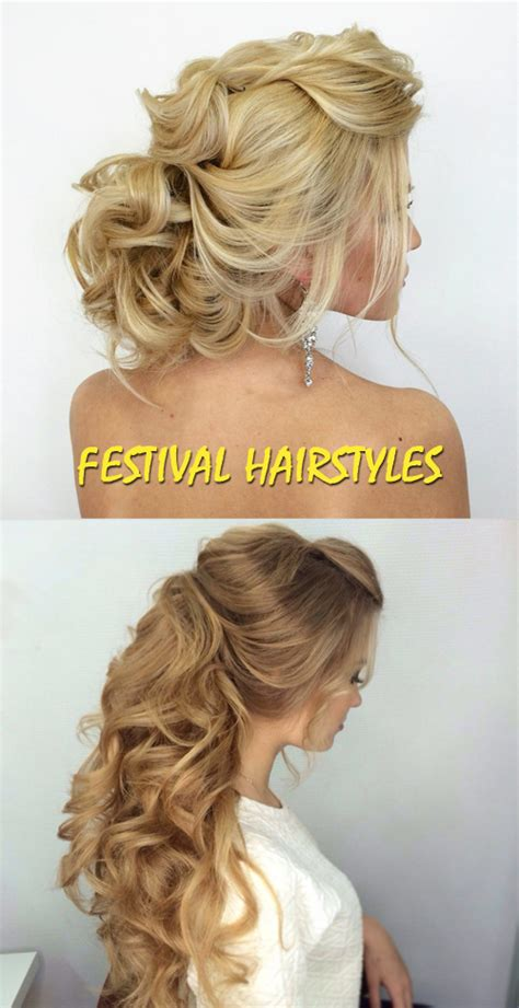 festival hairstyles good house wife