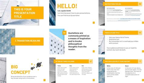 powerpoint template review   basset template