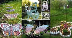 Truly Cool and Low-Budget Garden Decorations Inspired by