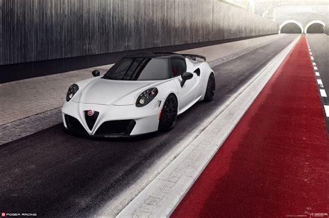 Alfa Romeo 4c Tuned By Pogea Racing Italian Beauty Meets