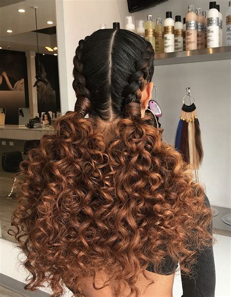 Braided And Curled Hairstyles by 15 Braided Hairstyles You Need To Try Next