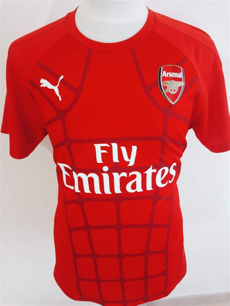 Arsenal Training/Leisure football shirt 2015 - 2016 ...