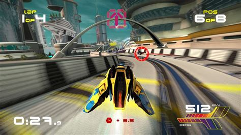 wipeout omega ps4 psvr gamespot