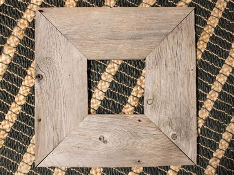 how to make barn wood picture frames how to make a rustic picture frame diy network