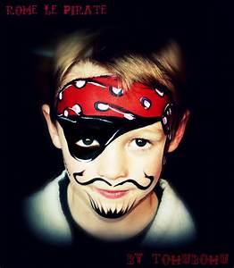 Maquillage Garcon Halloween : pirate design maquillage de pirate how to do a pirate halloween for kids kinderschminken ~ Farleysfitness.com Idées de Décoration