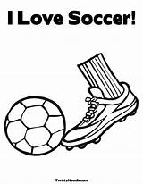 Soccer Coloring Ball Cleats Printable Nike Kicking Drawing Kick Template Cleat Popular Getdrawings Printablee Coloringhome sketch template