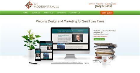 firm web designer the modern firm best web design firms
